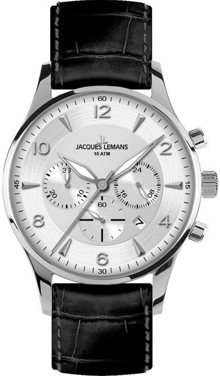93fb70c1 Jacques Lemans 1-1654B Chronograph. Купить мужские часы Jacques ...